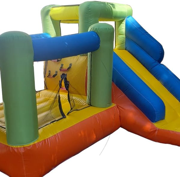 Inflable en casa jumpslider
